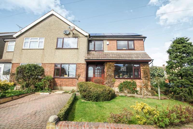 5 Bedrooms Semi Detached House for sale in Trinity Road, Great Burstead, Billericay, Essex, CM11 2RY