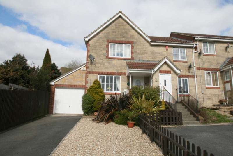 3 Bedrooms Semi Detached House for sale in Lower Ridings, Plympton