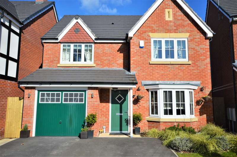 4 Bedrooms Detached House for sale in Redwood Gardens, Stockport