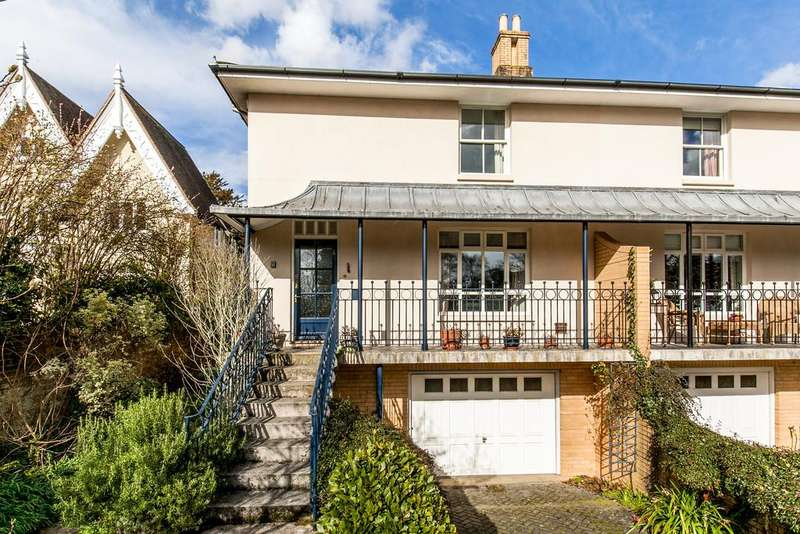 4 Bedrooms Semi Detached House for sale in St. Michaels Road, Winchester, SO23
