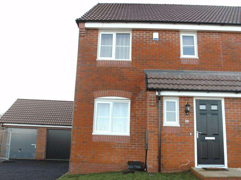 3 Bedrooms Semi Detached House for rent in Moseley Avenue, Market Harborough