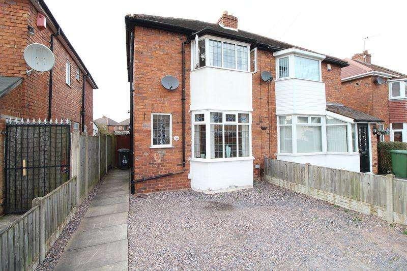 2 Bedrooms Semi Detached House for sale in High Street, Clayhanger, Brownhills