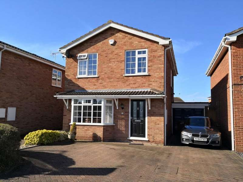 3 Bedrooms Detached House for sale in Creswell Farm Drive, Stafford