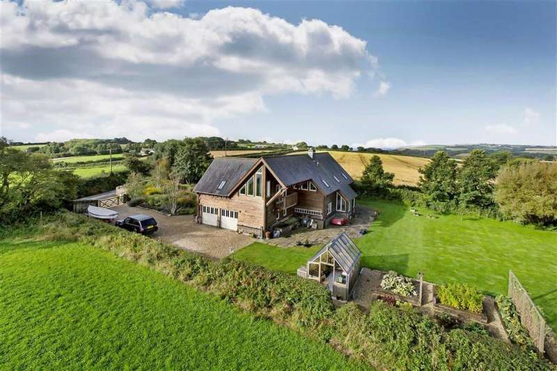 4 Bedrooms Detached House for sale in Near Downderry, Cornwall, PL11