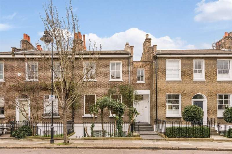 3 Bedrooms Terraced House for sale in Lofting Road, Barnsbury, London