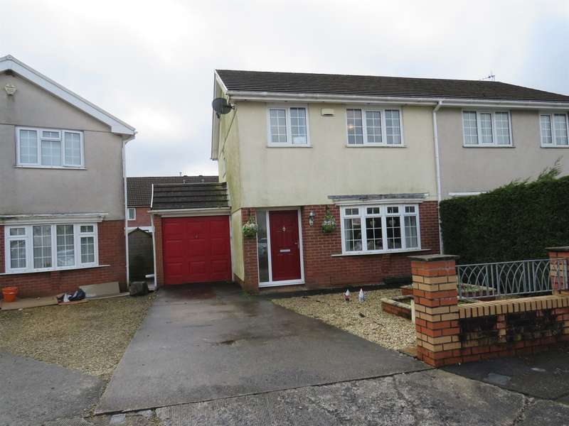 3 Bedrooms Semi Detached House for sale in Clos Vernon Watkins, Gorseinon, Swansea