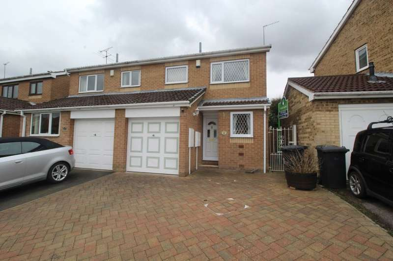 2 Bedrooms Semi Detached House for sale in Sundew Gardens, High Green, Sheffield, S35