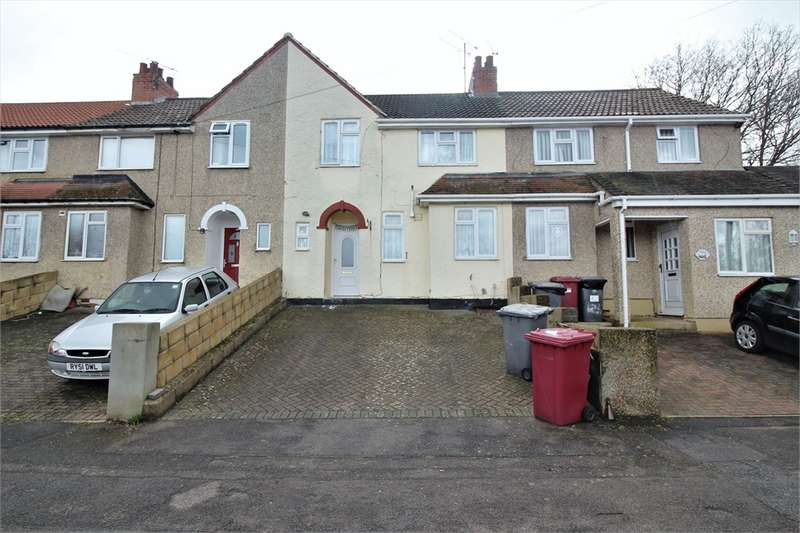 3 Bedrooms Terraced House for sale in Lyndhurst Road, Tilehurst, READING, Berkshire