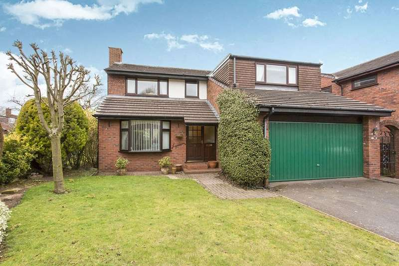 4 Bedrooms Detached House for sale in Green Walk, Cuddington, Northwich, CW8
