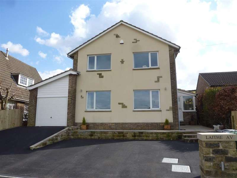 4 Bedrooms Detached House for sale in Laithe Avenue, Holmbridge, Holmfirth