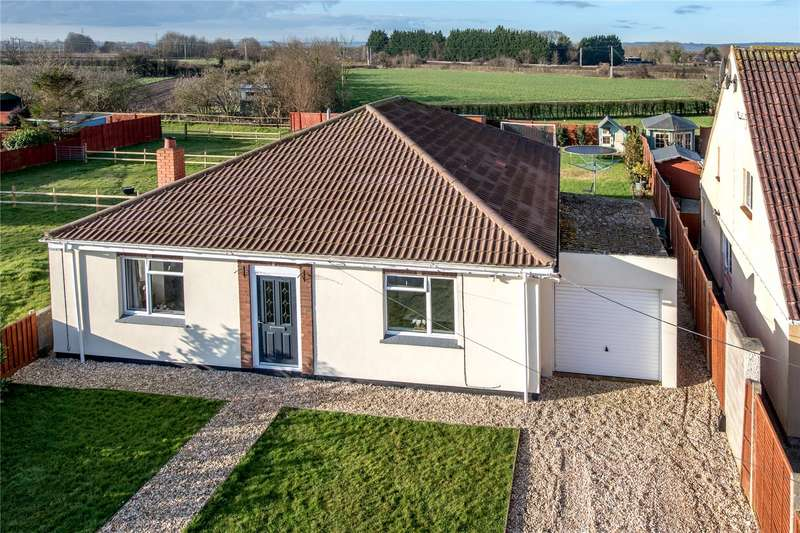4 Bedrooms Detached Bungalow for sale in Chedzoy Lane, Bridgwater, Somerset, TA7