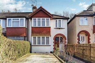 3 Bedrooms Semi Detached House for sale in Glenn Avenue, Purley, Surrey