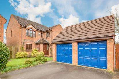 4 Bedrooms Detached House for sale in Bremen Grove, Shenley Brook End, Milton Keynes, Buckinghamshire