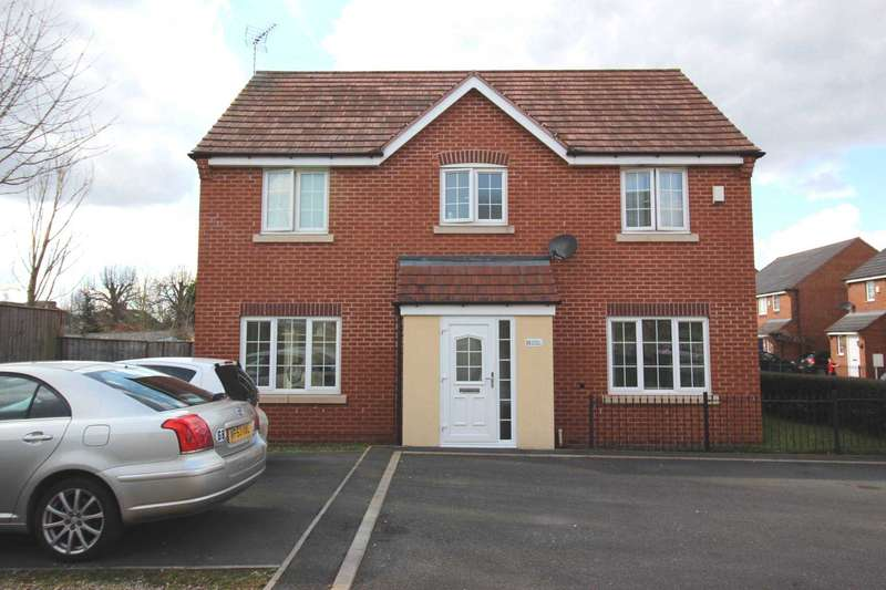 4 Bedrooms Link Detached House for sale in Market Garden Close, Thurmaston LE4 8NW