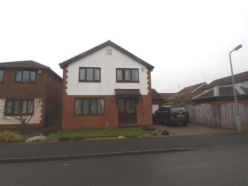 4 Bedrooms Detached House for sale in Langton Drive, Cramlington