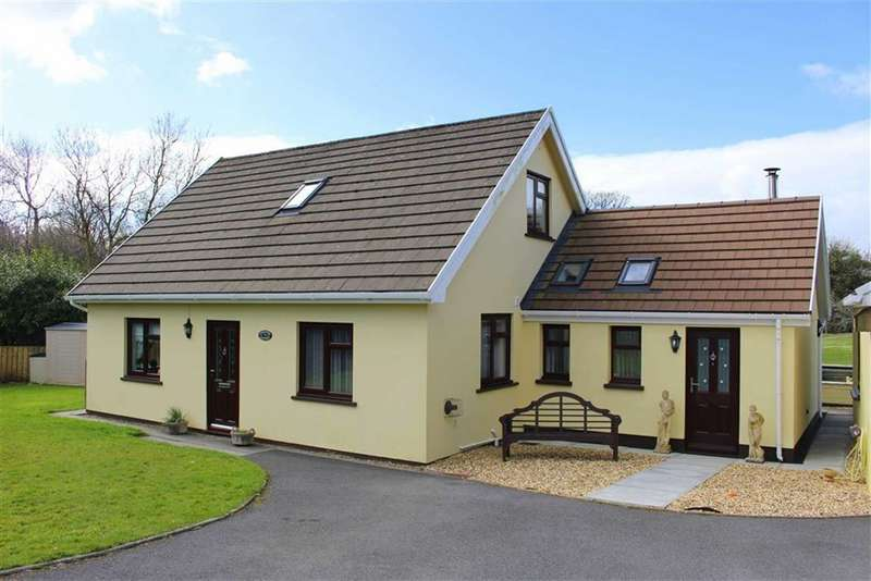 3 Bedrooms Detached Bungalow for sale in Broadmoor, Kilgetty