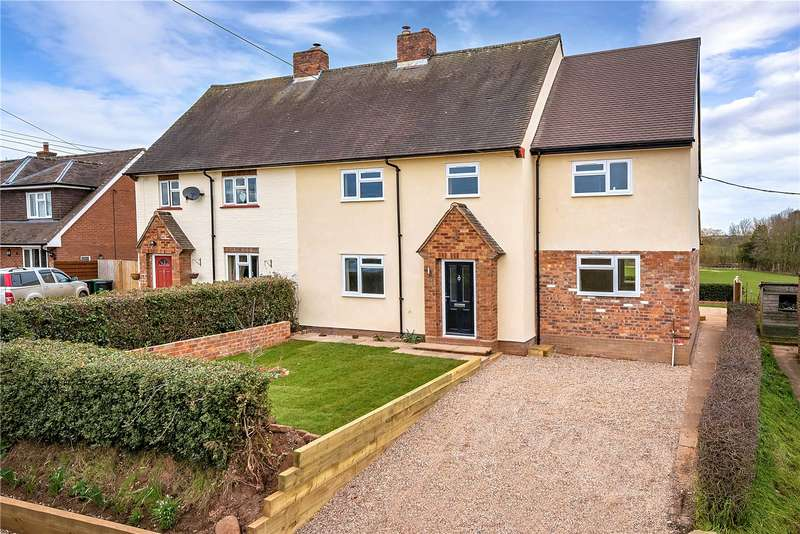 5 Bedrooms Semi Detached House for sale in 10 Vicarage Lane, Sutton Maddock, Shifnal, Shropshire, TF11