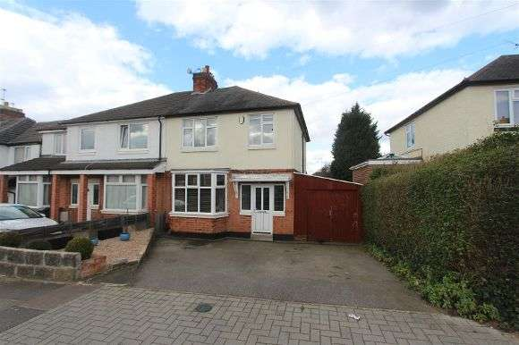 3 Bedrooms Semi Detached House for sale in Houlditch Road, Leicester