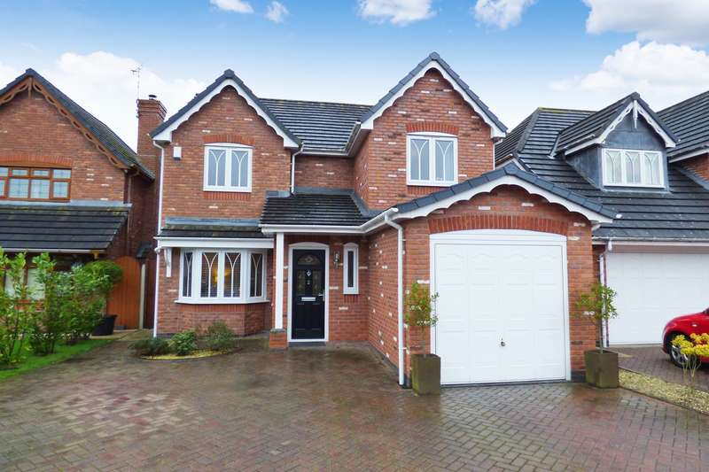 4 Bedrooms Detached House for sale in Amelia Close, Bulkington, CV12
