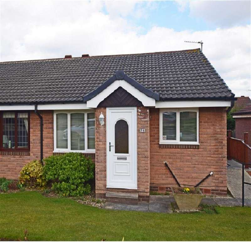 2 Bedrooms Semi Detached Bungalow for sale in Middle Close, Darton, Barnsley, S75