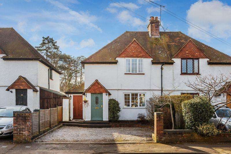 2 Bedrooms Semi Detached House for sale in Chilworth, Guildford