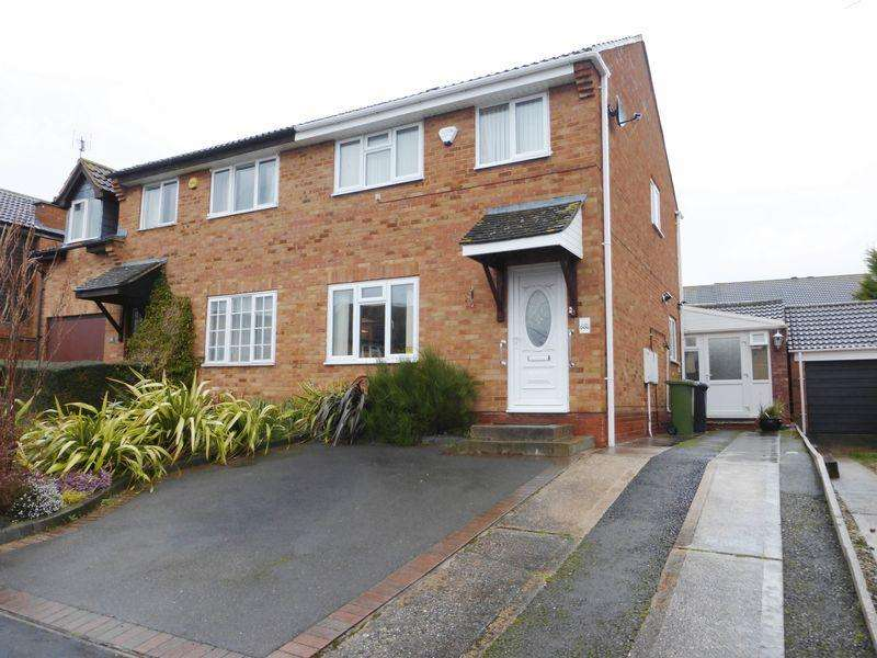 3 Bedrooms Semi Detached House for sale in Seymour Road, Alcester
