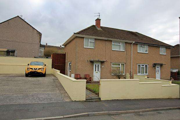 3 Bedrooms Semi Detached House for sale in Russell Terrace, Carmarthen, Carmarthenshire