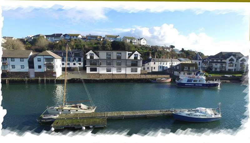 3 Bedrooms Semi Detached House for sale in The Boatyard, Embankment Road, Kingsbridge, Devon