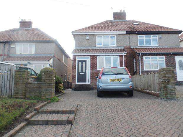 2 Bedrooms Semi Detached House for sale in BROAD ROAD, BLACKHALL, PETERLEE AREA VILLAGES