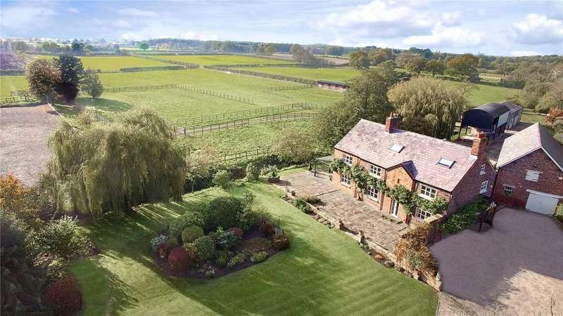 5 Bedrooms Equestrian Facility Character Property for sale in Kay Lane, Lymm, Cheshire, WA13