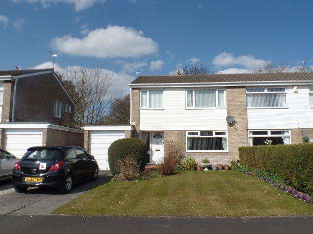 3 Bedrooms Semi Detached House for sale in CORNFIELD GARTH, PETERLEE, PETERLEE