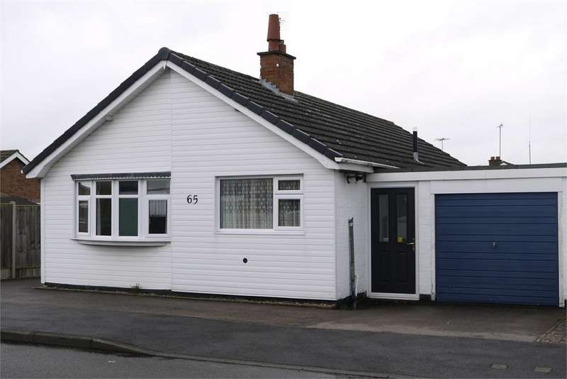3 Bedrooms Detached Bungalow for sale in Greenacres Drive, Lutterworth, Leicestershire