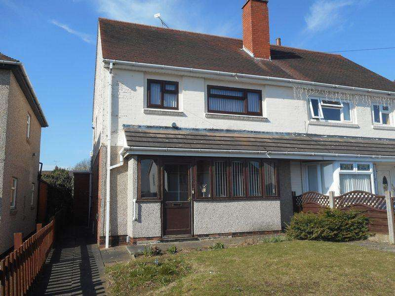 3 Bedrooms Semi Detached House for sale in Dorlecote Road, Nuneaton