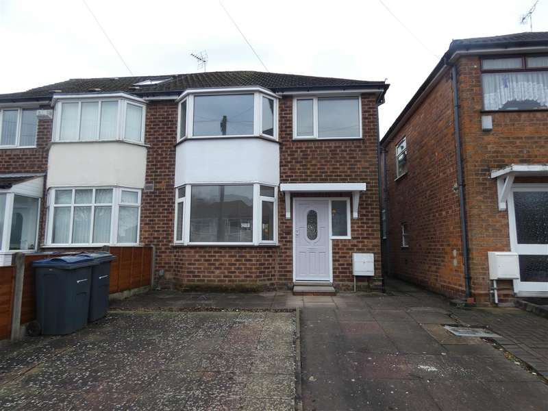 3 Bedrooms Semi Detached House for sale in Berryfield Road, Sheldon, Birmingham