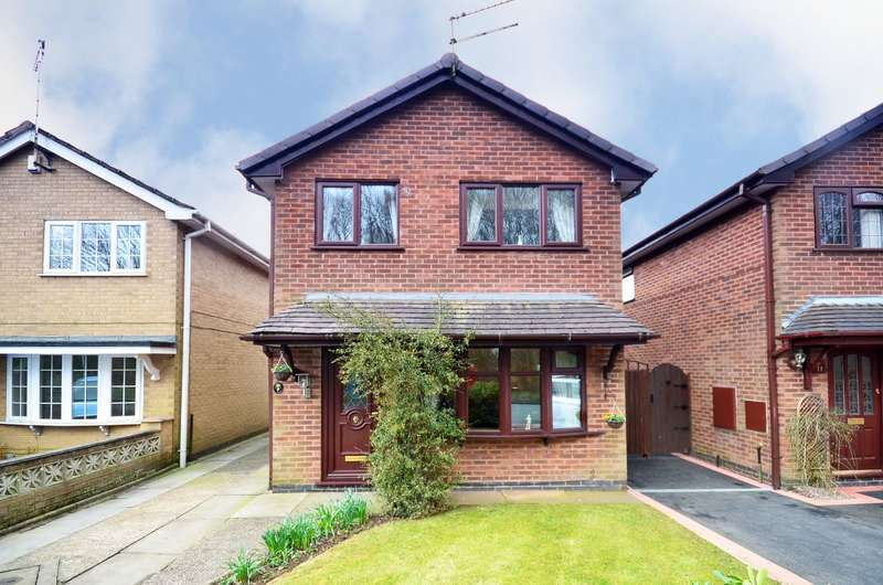 3 Bedrooms Detached House for sale in Wenham Drive, Meir Park, ST3 7QG