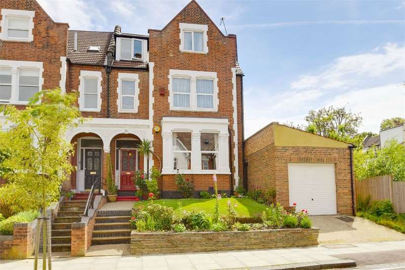 6 Bedrooms Semi Detached House for sale in Onslow Gardens, Muswell Hill/Highgate Borders, London