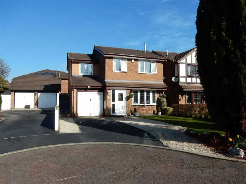 4 Bedrooms Detached House for sale in Stanner Close, Warrington