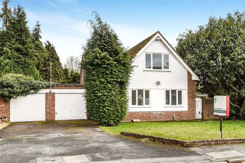 3 Bedrooms Detached House for sale in Linden Drive, Farnham Royal, Slough, SL2