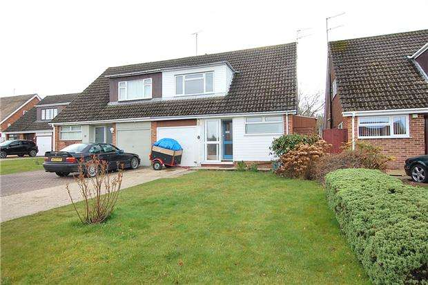 3 Bedrooms Semi Detached House for sale in Longway Avenue, Charlton Kings, CHELTENHAM, Gloucestershire, GL53