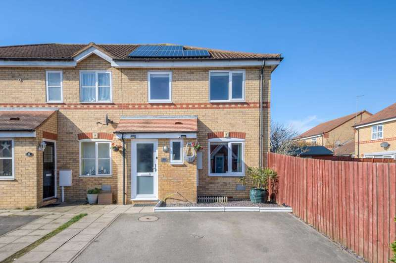 3 Bedrooms End Of Terrace House for sale in Hurley Croft, Monkston