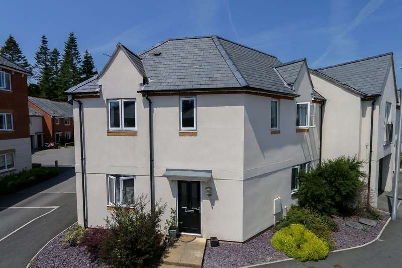 4 Bedrooms Semi Detached House for sale in Templer Place, Bovey Tracey