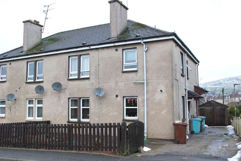 2 Bedrooms Ground Flat for sale in Manse Rd, Kilsyth G65