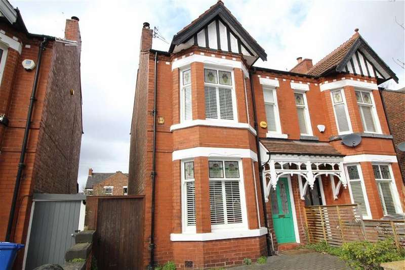 4 Bedrooms Semi Detached House for sale in Oswald Road, Chorlton
