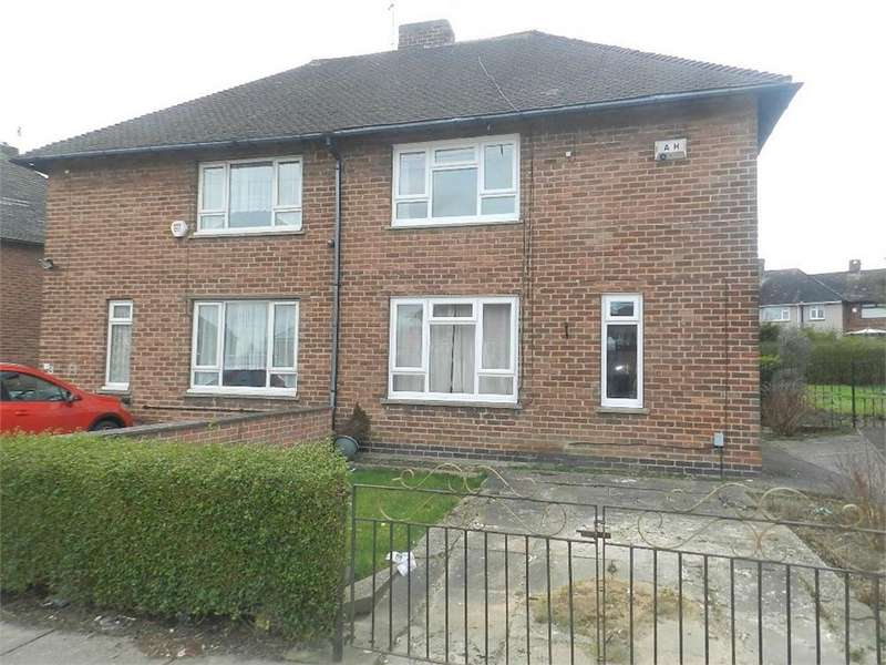 2 Bedrooms Semi Detached House for sale in Knutton Crescent, Parson Cross, SHEFFIELD, South Yorkshire