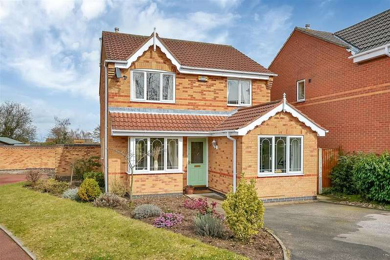 3 Bedrooms Detached House for sale in Wharfedale Gardens, Mansfield