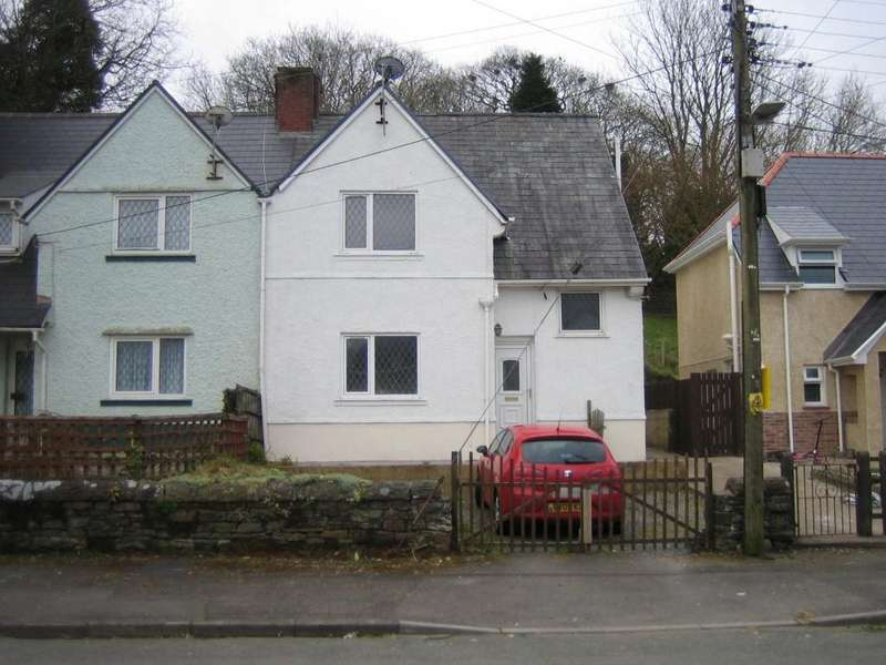 3 Bedrooms Semi Detached House for sale in Dantwyn Rd, Pontarddulais