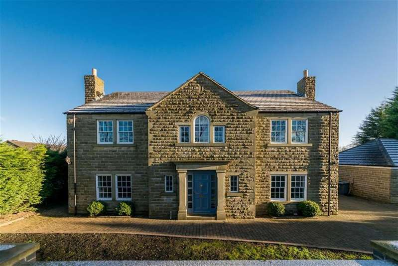 5 Bedrooms Detached House for sale in Woodside Road, Beaumont Park, Huddersfield, HD4