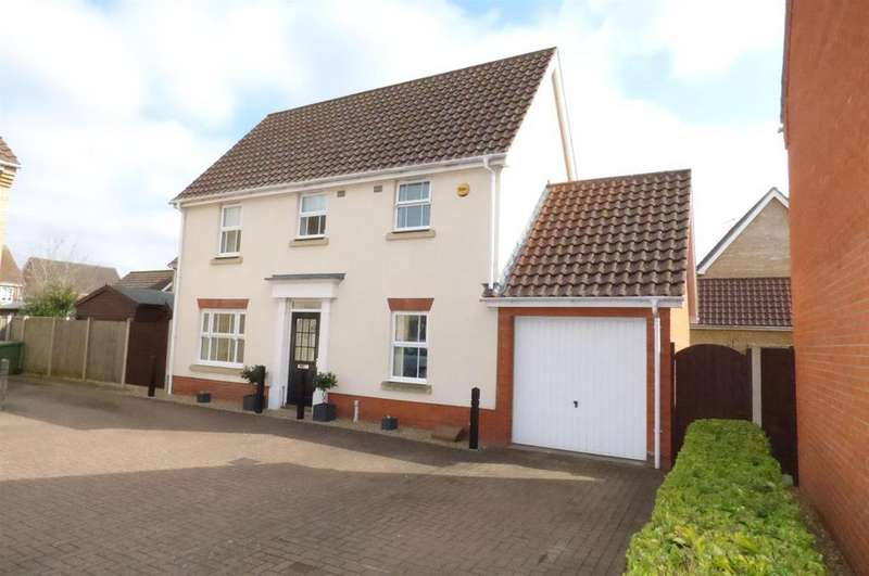 3 Bedrooms Detached House for sale in Charlock Road, Thetford