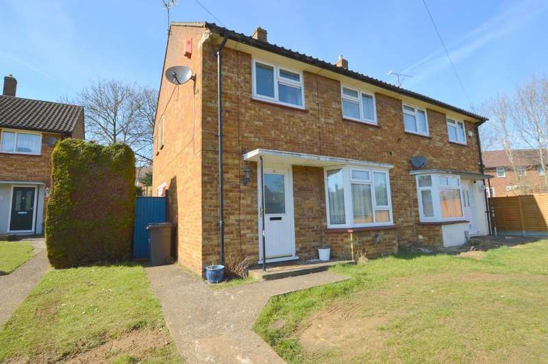 3 Bedrooms Semi Detached House for sale in Bank Close, Hockwell Ring, Luton, LU4 9NX