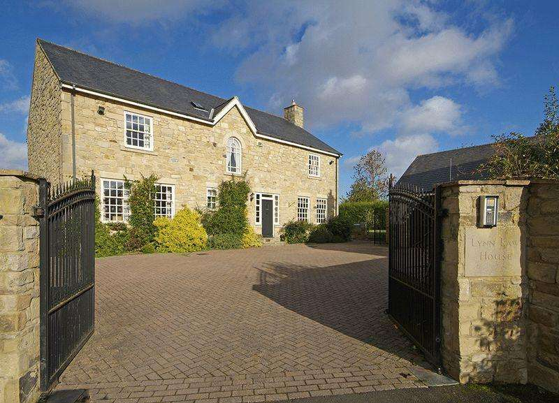 6 Bedrooms Detached House for sale in Lynn Law Farm, Whalton, Morpeth